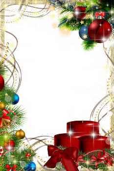 Gratis postkort og Jule ramme med bilde